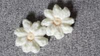 钩针教程:花瓣数很随心所欲的花朵,简单易学,适合新手