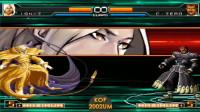 拳皇2002UM:伊格尼斯和ZERO的超杀战,一起开大招谁更强?