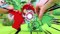 宝宝巴士-玩具兽Show,恐龙之间的较量!