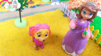 苏菲亚小公主和汪汪队立大功天天一起摘水果