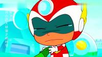 开心超人:花心超人阻止了敌人的药水,这让大家感到非常意外