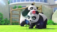 超级飞侠:乐迪来中国看大熊猫,还有谁想看看呢