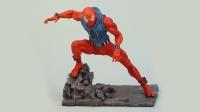 泥塑,蜘蛛侠,绯红蜘蛛套装
