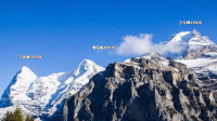 瑞士雪朗峰 最佳观看少女峰之处  阿尔卑斯山值得一游的景观【原创】