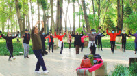 人民公园锅庄舞(55)梦高原