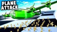 小格解说 玩具士兵大作战: 建设炮台守卫阵地! 客厅战地模拟器!