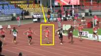 中国速度!起跑不好落后,但中国飞人苏炳添爆发连超5人逆转夺冠