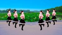 广场舞《情歌飞出十三寨》歌醉舞美,简单欢快32步踩点舞