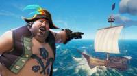 幽灵 盗贼之海 刚当上海盗晕船了