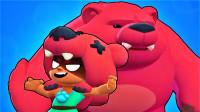 荒野乱斗:丛林之王妮塔登场,打不过敌人就召唤巨熊教训他们