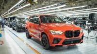 宝马美国南卡罗来纳州斯帕坦堡生产线正式下线第500万辆新车 - BMW X5 M Competition (F95)
