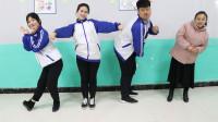 学霸王小九校园剧:老师让学生模仿动画人物跳舞,没想女学霸跳了一个皮卡丘!真好看