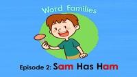 Little Fox小狐狸英语动画  字母家庭2  Sam Has Ham