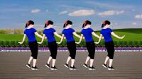 益馨广场舞《新欢渡旧爱》伤感情歌动感32步,好听又好看,附分解