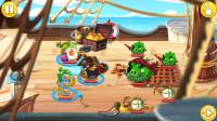 愤怒的小鸟英雄传 对战海盗船猪猪