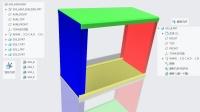 Creo钣金拆件视频教程之组件法(Creo7.0录制)