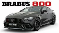2021 巴博斯 Brabus 800 宣传片 - 基于 奔驰 AMG GT63 S 4MATIC+ 4-Door Coupé 打造