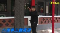 八极拳三翻挑顶:实用的实战方法,胡玉涛老师大揭秘