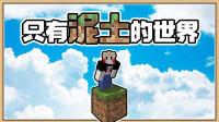 鬼鬼【我的世界 1.16】只有一块泥土该怎么生存!?【只有泥土的世界】一格空岛生存