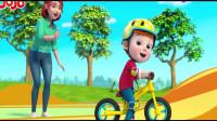 超级宝贝:骑车的时候,一定要注意安全啊