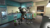辐射01:这是我的机器人管家,只要充电,任劳任怨