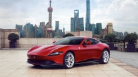法拉利中国售价最低车型Roma亮相上海