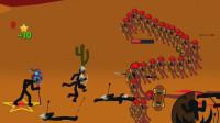 火柴人战争:一个巫师大战滑板少年