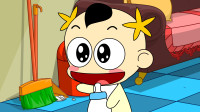 奶瓶小星:开门暗号,搞笑动画短片