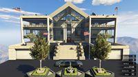 亚当熊GTA5 小富的超级大豪宅,还有超大泳池非常气派