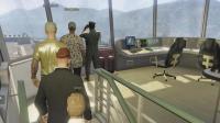 亚当熊GTA5线上土豪52熊哥进入军事基地控制室楼内部彩蛋