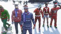 亚当熊GTA5,圣诞节活动(下)和水友去C山玩作死