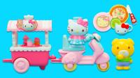 凯蒂猫玩具:迷你冰淇淋车和厨房切切乐