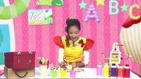 帮帮龙教育频道:帮帮龙创意学堂ABC(1),一起学英语,手工,唱歌!