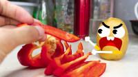 柠檬和辣椒都会说话了,只是它们的遭遇有点惨啊,奇趣搞笑动画