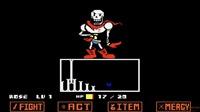 传说之下战斗模拟器:sans大战Papyrus