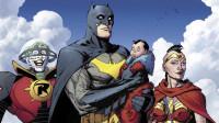 蝙蝠侠与蝙蝠侠成为了超人的父母?神奇女侠成为义母