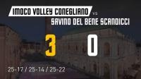 2020.09.05 半决赛 科内利亚诺 vs 斯坎迪奇 - 2020/2021意大利女排超级杯