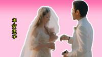 向佐晒照慶結婚一週年,郭碧婷穿婚紗戴天價皇冠,已平安生產?