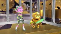 小王子与土豆仔:土豆仔真是可爱,在学校就变身,这看着多吓人啊