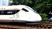CRH6A-0604小地铁担当C6894(肇庆-广州)通过广茂线小桥涌基