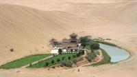 游丝绸之路名城沙漠绿洲敦煌
