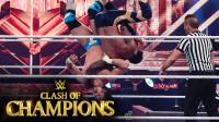 2020冠军争霸大赛 RAW双打冠军赛 安吉尔超拼 爬到上绳释放后翻摔