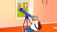 疯狂戴夫发现宇宙陨石要撞击,坐火箭逃离地球!