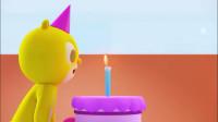 迷你特工队之超级恐龙力量:蛋糕上的蜡烛吹不灭是怎么回事?