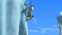 倒霉熊:贝肯利用树枝玩起竹竿跳