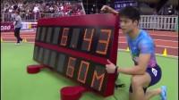 高光回顾:60米室内赛苏炳添6秒43夺第一 世界记录6秒37