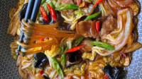 家常美食白菜猪肉炖粉条做法,做法简单,入味好吃,米饭不够吃!