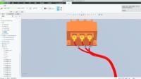 Creo布线修饰特征之标记创建视频教程(Creo7.0新功能)