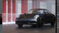 C4D工业产品汽车场景制作渲染第1集