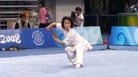 北京2008武术套路比赛 女子拳术 女子长拳 001